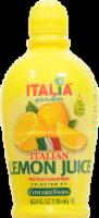 Italia Lemon Juice - 4.23 fl oz