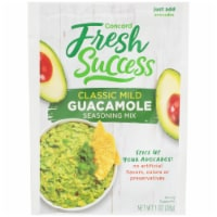 Concord Foods Fresh Success Classic Guacamole Mix