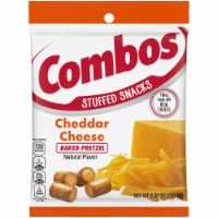Combos Baked Snacks Cheddar Cheese Pretzels