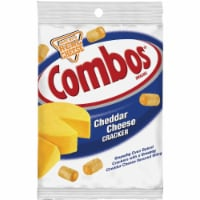 Combos Cheddar Cheese Cracker Baked Snacks Bag