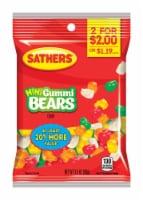 Sathers Mini Fruit Gummy Bears 3-1/2 oz. - Case Of: 12; - 1