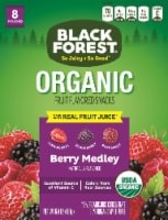 Black Forest Organic Berry Medley Flavored Fruit Snacks