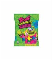 Trolli Sour Bright Sloths Tropical Fruit Gummi Candy 4.25 oz. - Case Of: 1; - 1