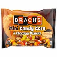 Brach's® Mini Candy Corn and Chocolate Peanuts Mix - 8 oz