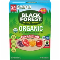 Black Forest Organic Mixed Fruit Flavored Snacks 24 Count