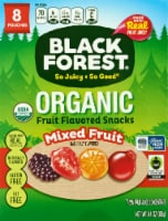 Black Forest Organic Mixed Fruit Flavored Snacks 8 Count