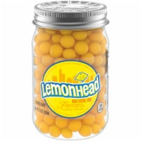 Lemonhead Lemon Candy Jar
