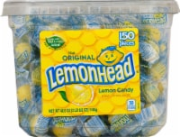 Lemonhead Lemon Candy Tub
