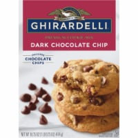 Ghirardelli Dark Chocolate Chip Premium Cookie Mix