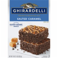 Ghirardelli Salted Caramel Premium Brownie Mix