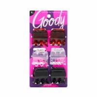 Goody Medium Claw Clips - 6 ct