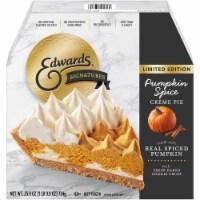 Edwards Signatures Limited Edition Pumpkin Spice Creme Pie