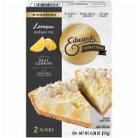Edwards Signatures Lemon Cream Pie Slices - 6.08 oz
