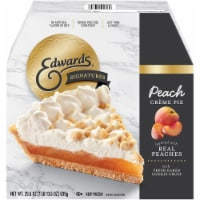 Edwards Signatures Peach Creme Pie