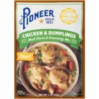 Pioneer Chicken & Dumplings Meat Sauce & Seasoning Mix