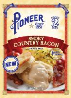 Pioneer Brand Smoky Country Bacon Gravy Mix - 2 oz