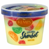 Kemps Fat Free Rainbow Sherbet
