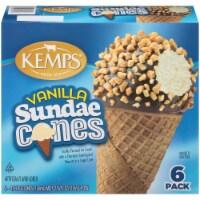 Kemps Vanilla Sundae Cones
