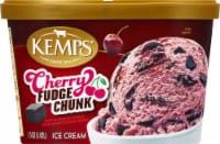 Kemps® Old Fashioned Cherry Fudge Chunk Ice Cream - 1.5 qt