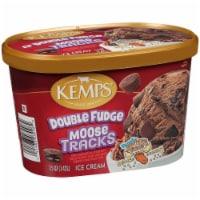Kemps® Double Fudge Moose Tracks Ice Cream - 1.5 qt