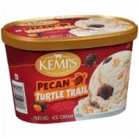 Kemps Pecan Turtle Trail Ice Cream - 1.5 qt