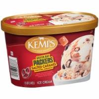 Kemps Green Bay Packers Salted Caramel Pretzel Crunch Ice Cream - 48 Fl Oz
