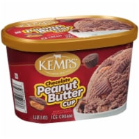 Kemps Chocolate Peanut Butter Cup Ice Cream - 1.5 qt