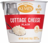 Kemps Singles 4% Milkfat Small Curd Cottage Cheese - 5.64 oz