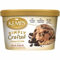 Kemps Simply Crafted  Mocha Mudslide Premium Ice Cream