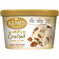Kemps Simply Crafted Roasted Butter Pecan Premium Ice Cream