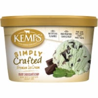 Kemps Simply Crafted Mint Chocolate Chip Ice Cream - 48 oz