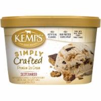 Kemps Simply Crafted Ice Cream - Scotcharoo - 48 oz