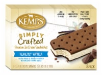 Kemps Simply Crafted Heavenly Vanilla Ice Cream Sandwiches - 8 ct / 3.5 fl oz