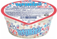 Kemps IttiBitz Red White & Pop Strawberries and Cream Ice Cream with Popping Candy - 2.9 oz
