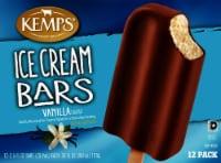 Kemps Vanilla Ice Cream Bars - 12 ct / 2.5 fl oz