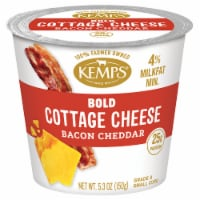 Kemps Bold Bacon Cheddar 4% Cottage Cheese - 5.3 oz