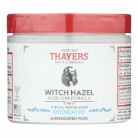 Thayer's Natural Remedies Superhazel Topical Pain Reliever Pads  - 1 Each - 60 PADS - Case of 1 - 60 PADS each