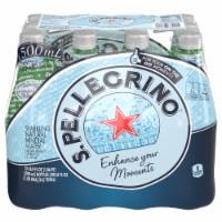 Sanpellegrino Sparkling Natural Mineral Water 12 Count