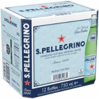 San Pellegrino Sparkling Natural Mineral Water 12 Count