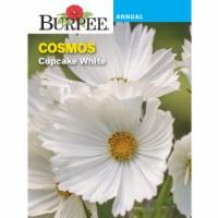 Burpee Cupcake White Cosmos Seed Packet