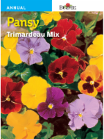 Burpee Pansy Trimardeau Mix Seeds