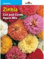 Burpee Zinnia Cut and Come Again Seed Mix