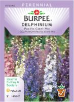 Burpee Pacific Giant Mix Delphinium Seeds