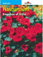 Burpee Nasturtium Empress of India Seeds - Red