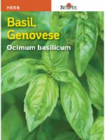 Burpee Genovese Basil Seeds - Green - 1 Count