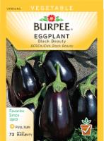 Burpee Black Beauty Eggplant Seeds