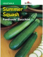 Burpee Fordhook Zucchini Summer Squash Seeds - Green