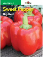 Burpee  Big Red Sweet Pepper Seeds - Red - 1 Count