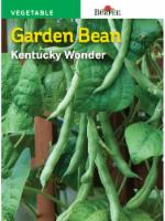 Burpee Kentucky Wonder Bean Seeds - 1 Count