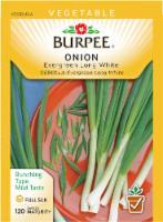 Burpee Evergreen Long White Bunching Onion Seeds